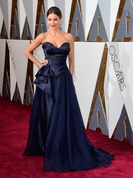 b2a803349 Sofia Vergara - Oscars 2016 Best Dressed  The Most Gorgeous Gowns In ...