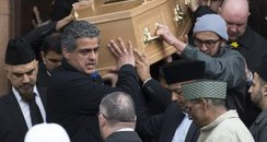 Asad Shah Funeral