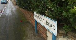Boscombe baby murder Carysfort Road