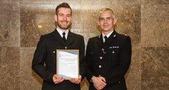 PCSO Daniel Tildesley with Cornwall Commander, Chi