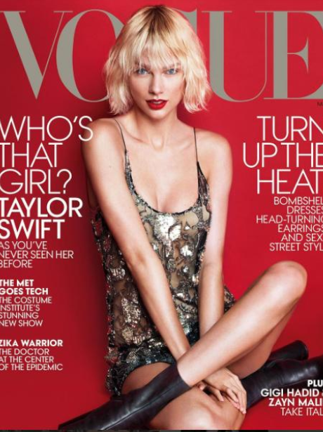 Taylor Swift covers Vogue