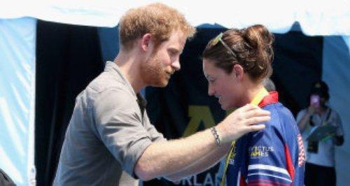 Elizabeth Marks & Prince Harry