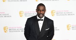 Idris Elba at the BAFTA TV Awards 2016