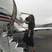 20. Victoria Beckham boards private jet to Cannes