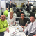 9. Kris Jenner has lunch with Michelin star chefs in Cannes.