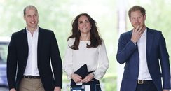 Prince William, Kate and Prince Harry Heads Togeth