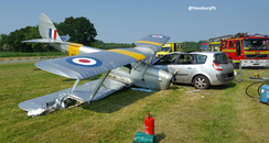 Brimpton Airfield Crash