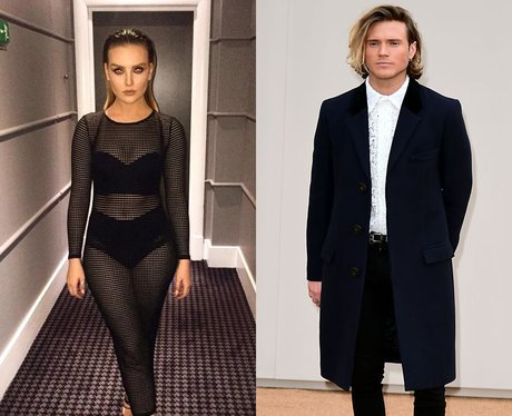 Perrie Edwards and Dougie Poynter