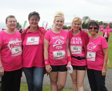 Heart Angels: Folkestone Race For Life (12th June