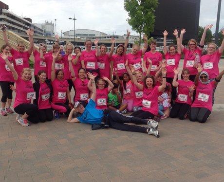 Heart Angels: Cheltenham Race for Life (10.07.16)