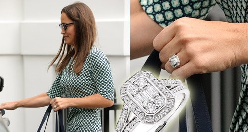 These Rings Look EXACTLY Like Pippa Middleton's But Cost ... - photo#14