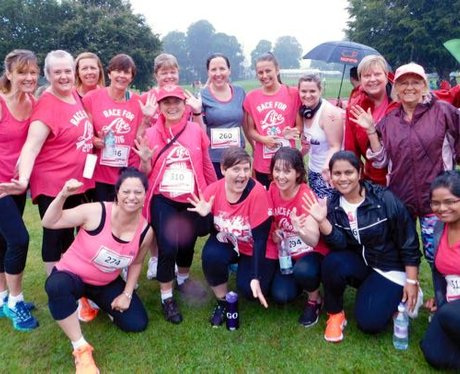 Heart Angels: Swansea Race for Life (24.07.16)