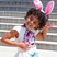 20. Blue Ivy poses with bunny ears at the White House.