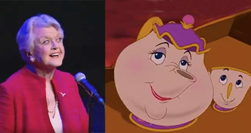 Angela Lansbury Mrs Potts