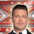 X Factor Brad Pitt Canvas