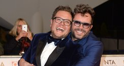 Alan CArr and his fiance Paul Drayton