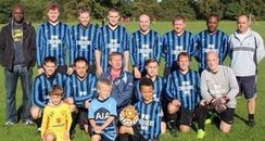 Chequers FC Before Kit Is Stolen