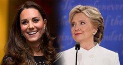 Kate Middleton Hillary Clinton