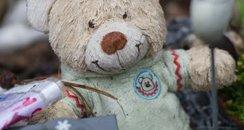 Teddy Bear At A Grave