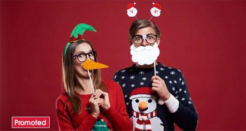Christmas jumper promo tab