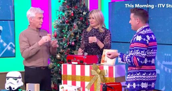 Holly Willoughby and Philip Schofield shots
