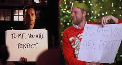 Love actually first dates canvas