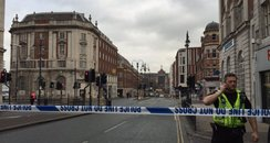 suspicious package in leeds