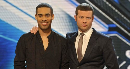 Danyl Johnson Dermot O'Leary X Factor 2009