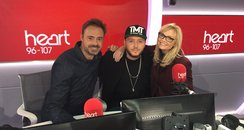 James Arthur With Jamie And Emma