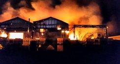 Wobaston Factory Fire Wolverhampton