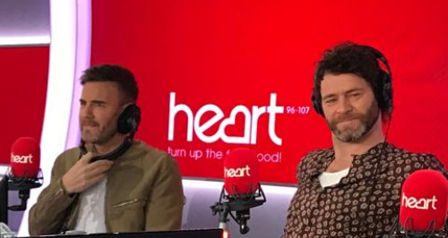 Take That on Heart Breakfast