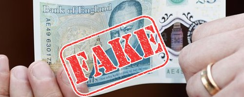 Have You Got One? This Is How To Spot A Fake Fiver