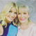 8. Holly Willoughby poses with her lookalike mother.