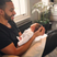 10. Marvin Humes dotes over his daughter Valentina.