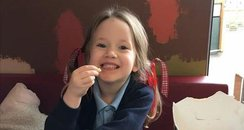 tribute photo to Violet-Grace Youens, St Helens