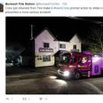mark cross inn pub fire