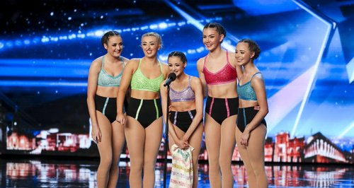 Britain's Got Talent Just Us Gymnast