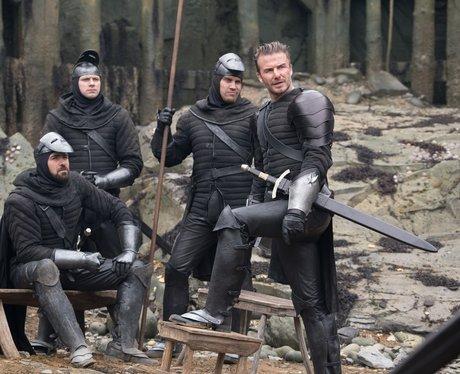 David Beckham in King Arthur Legend of the sword