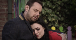 Eastenders Whitney and Mick Carter