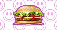 Whopper Burger Canvas