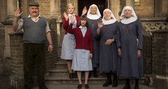 Call The Midwife waving