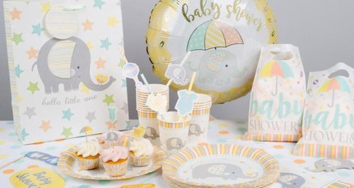 Poundand Baby Shower Decorations