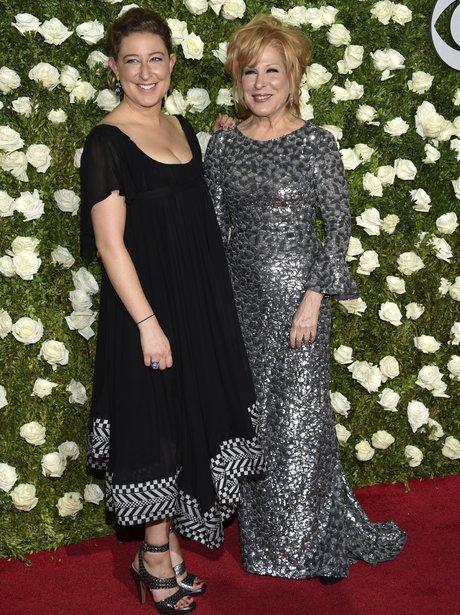 Bette Midler and lookalike daughter Sophie Von Has