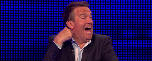 Bradley Walsh Breaks Down In Fits Of Giggles Over
