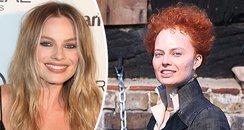 Margot Robbie Looks Unrecognisable With Balding Ha